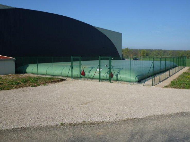 réserve d'eau incendie artificielle